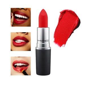 """MAC • Powder Kiss Lipstick • """"You're Buggin' Lady"""""""